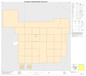 Primary view of object titled '2010 Census County Block Map: Hall County, Inset B01'.
