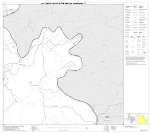 Primary view of object titled '2010 Census County Block Map: San Saba County, Block 17'.