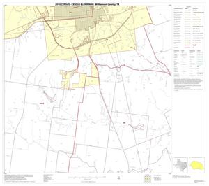 Primary view of object titled '2010 Census County Block Map: Williamson County, Block 37'.