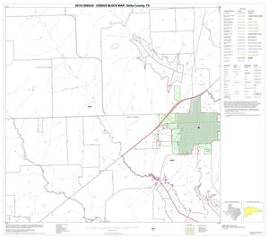 Primary view of object titled '2010 Census County Block Map: Delta County, Block 7'.