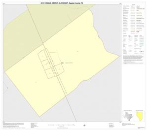 Primary view of object titled '2010 Census County Block Map: Zapata County, Inset F01'.