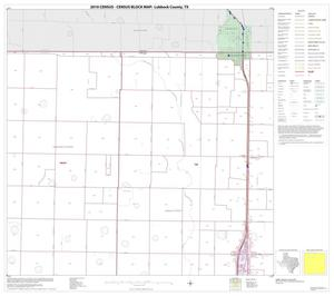 Primary view of object titled '2010 Census County Block Map: Lubbock County, Block 2'.
