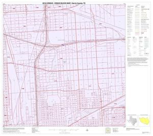 Primary view of object titled '2010 Census County Block Map: Harris County, Block 178'.