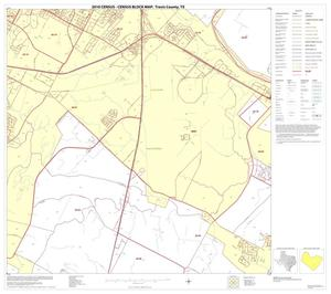 Primary view of object titled '2010 Census County Block Map: Travis County, Block 42'.