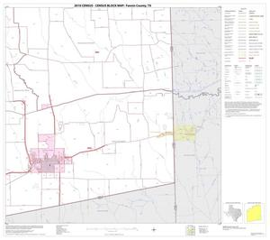Primary view of object titled '2010 Census County Block Map: Fannin County, Block 15'.