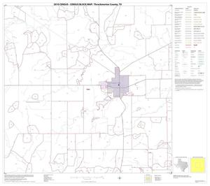 Primary view of object titled '2010 Census County Block Map: Throckmorton County, Block 5'.