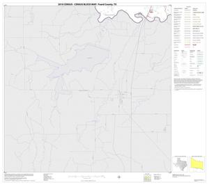 Primary view of object titled '2010 Census County Block Map: Foard County, Block 11'.