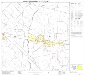 Primary view of object titled '2010 Census County Block Map: Van Zandt County, Block 7'.
