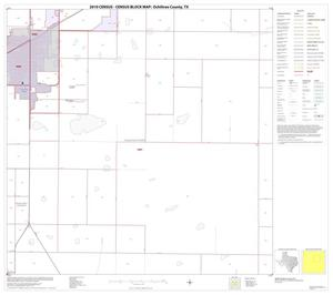 Primary view of object titled '2010 Census County Block Map: Ochiltree County, Block 7'.