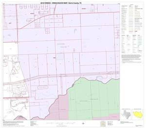 Primary view of object titled '2010 Census County Block Map: Harris County, Block 266'.
