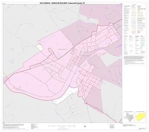 Primary view of object titled '2010 Census County Block Map: Somervell County, Inset B01'.