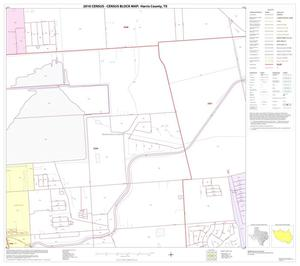 Primary view of object titled '2010 Census County Block Map: Harris County, Block 164'.
