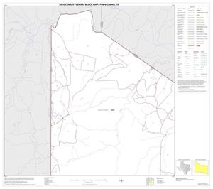 Primary view of object titled '2010 Census County Block Map: Foard County, Block 1'.