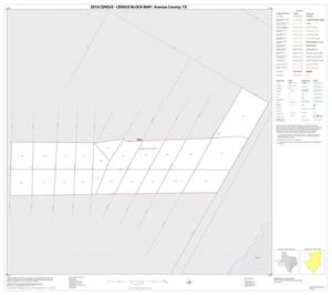 Primary view of object titled '2010 Census County Block Map: Aransas County, Inset E01'.