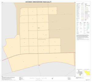 Primary view of object titled '2010 Census County Block Map: Webb County, Inset E01'.