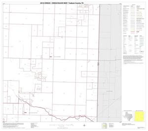 Primary view of object titled '2010 Census County Block Map: Yoakum County, Block 6'.