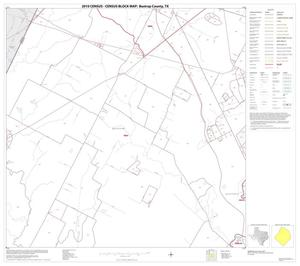 Primary view of object titled '2010 Census County Block Map: Bastrop County, Block 5'.