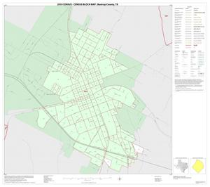 Primary view of object titled '2010 Census County Block Map: Bastrop County, Inset A01'.