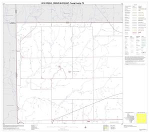 Primary view of object titled '2010 Census County Block Map: Young County, Block 1'.