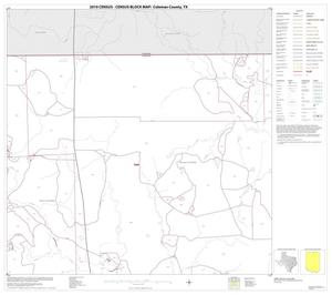 Primary view of object titled '2010 Census County Block Map: Coleman County, Block 3'.