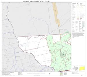 Primary view of object titled '2010 Census County Block Map: Chambers County, Block 1'.