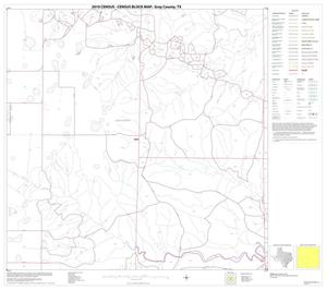 Primary view of object titled '2010 Census County Block Map: Gray County, Block 10'.