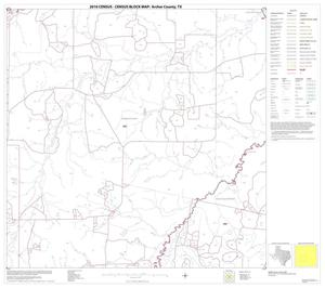 Primary view of object titled '2010 Census County Block Map: Archer County, Block 10'.