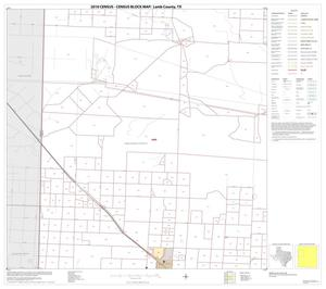 Primary view of object titled '2010 Census County Block Map: Lamb County, Block 4'.