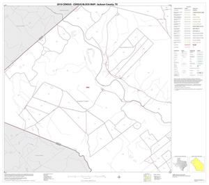 Primary view of object titled '2010 Census County Block Map: Jackson County, Block 5'.