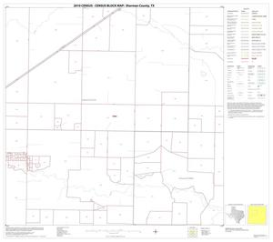 Primary view of object titled '2010 Census County Block Map: Sherman County, Block 6'.