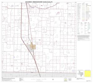 Primary view of object titled '2010 Census County Block Map: Swisher County, Block 8'.
