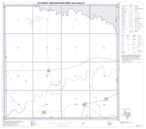 Primary view of object titled '2010 Census County Block Map: Knox County, Index'.