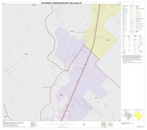 Primary view of object titled '2010 Census County Block Map: Hays County, Inset F01'.