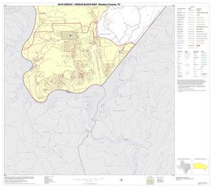 Primary view of object titled '2010 Census County Block Map: Bandera County, Block 20'.
