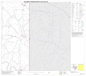Primary view of object titled '2010 Census County Block Map: Cottle County, Block 12'.