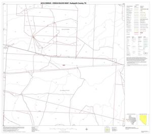 Primary view of object titled '2010 Census County Block Map: Hudspeth County, Block 9'.