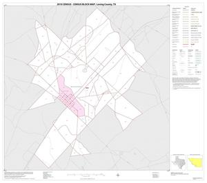 Primary view of object titled '2010 Census County Block Map: Loving County, Inset A01'.