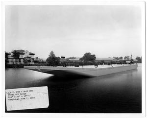 Primary view of object titled '[Barge on Water]'.