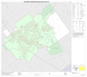 Primary view of object titled '2010 Census County Block Map: Dimmit County, Inset A01'.