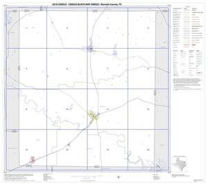 Primary view of object titled '2010 Census County Block Map: Runnels County, Index'.