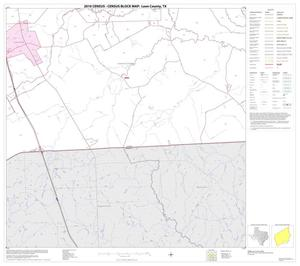 Primary view of object titled '2010 Census County Block Map: Leon County, Block 19'.