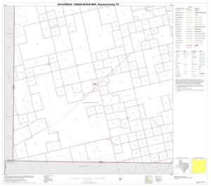 Primary view of object titled '2010 Census County Block Map: Dawson County, Block 7'.