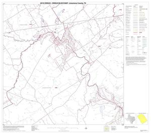 Primary view of object titled '2010 Census County Block Map: Limestone County, Block 8'.