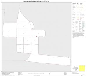 Primary view of object titled '2010 Census County Block Map: Wheeler County, Inset C01'.