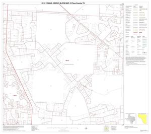 Primary view of object titled '2010 Census County Block Map: El Paso County, Block 46'.