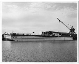 Primary view of object titled '[Barge C-204]'.