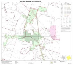 Primary view of object titled '2010 Census County Block Map: Coryell County, Block 12'.