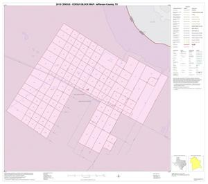 Primary view of object titled '2010 Census County Block Map: Jefferson County, Inset H01'.