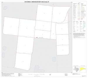 Primary view of object titled '2010 Census County Block Map: Delta County, Inset A01'.