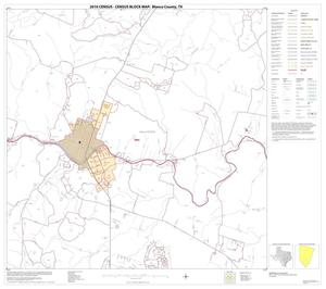 Primary view of object titled '2010 Census County Block Map: Blanco County, Block 13'.